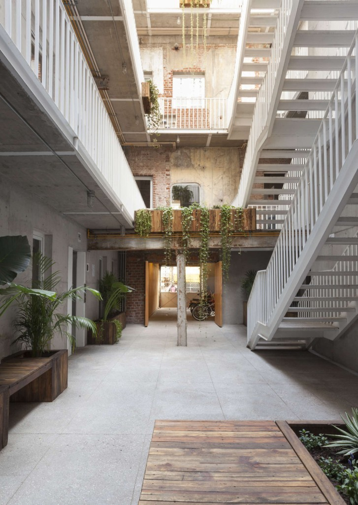 Abandoned Mexico City building gets new life as a vibrant mixed-use space