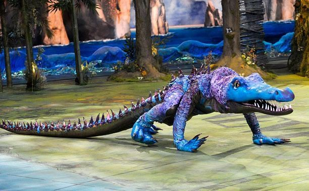 Meet the man who played the crocodile in 'Peter Pan Live!'