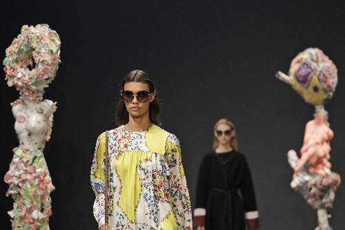 Tory Burch reinvents power suit, merges pretty and powerful