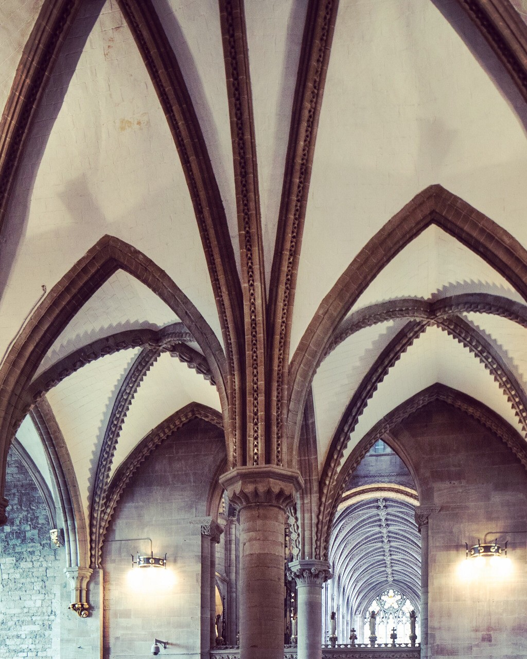Vaulting ambition at Hereford Cathedral UK - follow me on Insta: @fotofacade