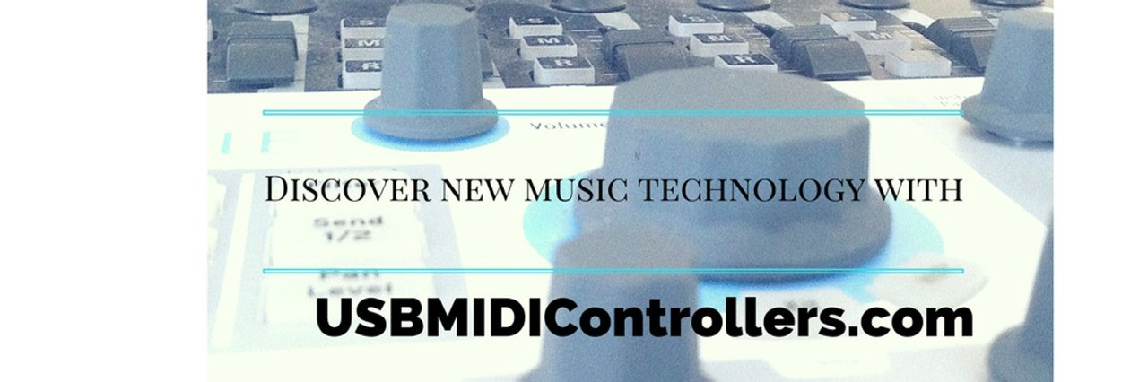 Discover new music technology with USBMIDIControllers.com... the website is now live!
