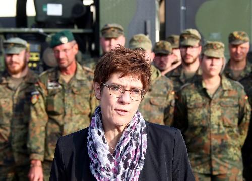Kramp-Karrenbauer - Brauchen politisches 'Go' für Syrien-Schutzzone