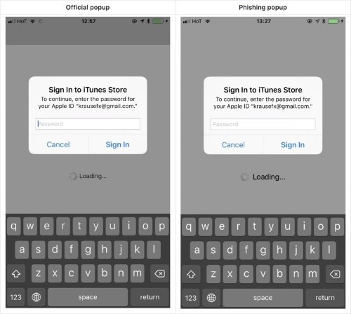 Developer Demonstrates iOS Phishing Attack That Uses Apple-Style Password Request