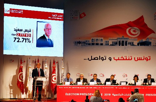 Official results show Kais Saied won Tunisian presidential election