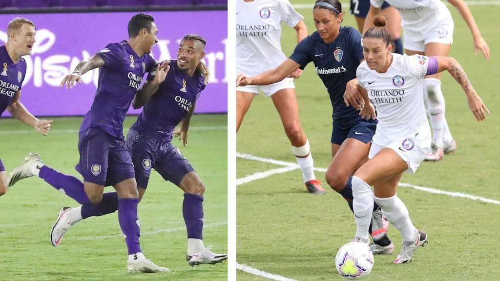 Orlando City thrashes Chicago Fire, Orlando Pride fend off North Carolina Courage in scoreless draw