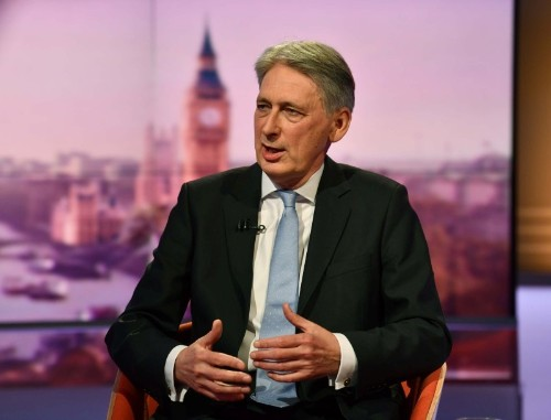 Very difficult for PM May's successor to pursue a no deal exit: Hammond