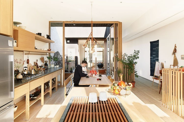 Articles about these shop owners have killer apartment right upstairs on Dwell.com - Dwell