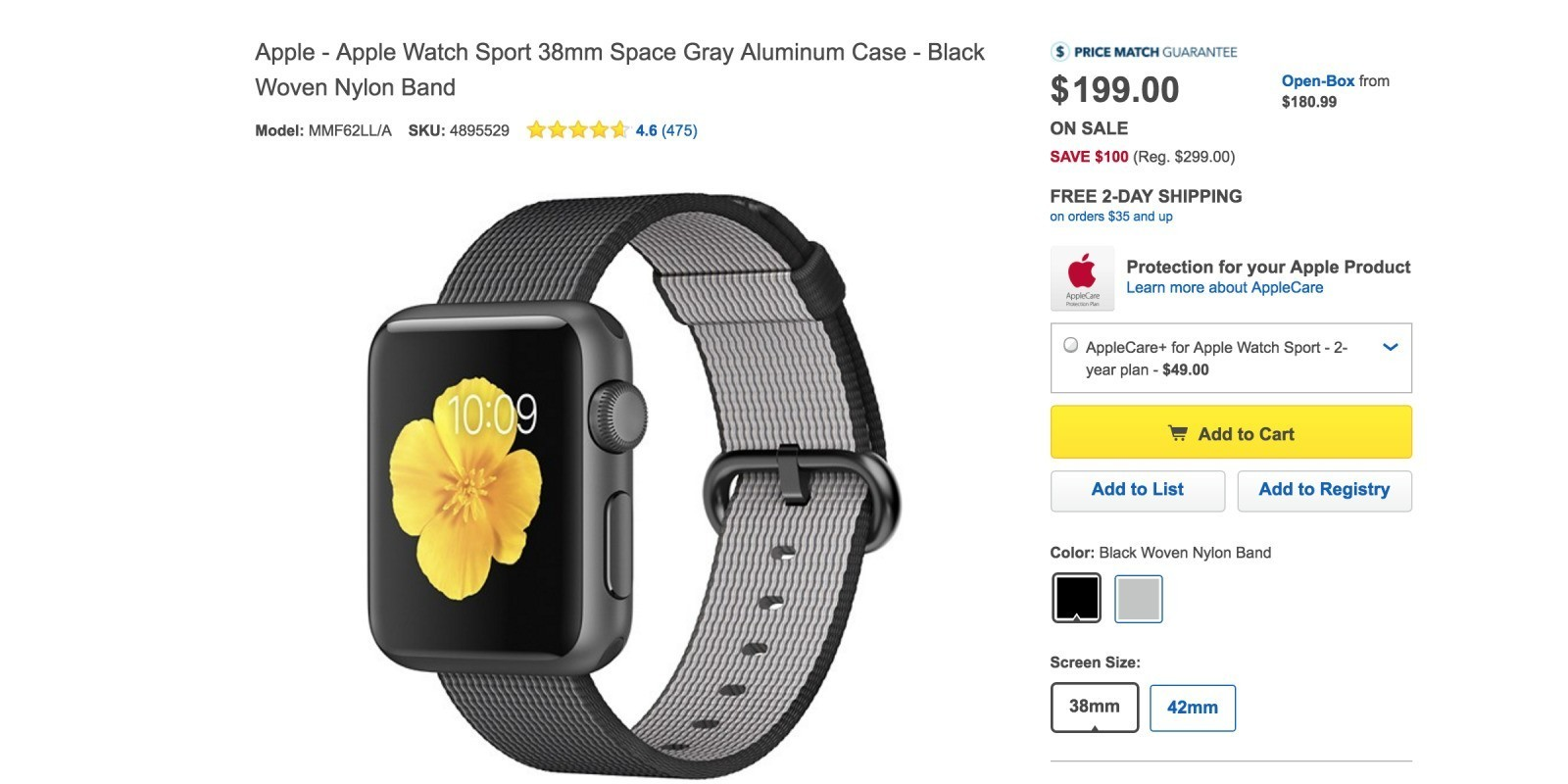 Apple Watch drops below $200 in the US ahead of Apple Watch 2 unveiling