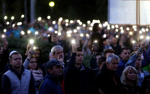 Slovak street protests return as investigation into murdered journalist builds