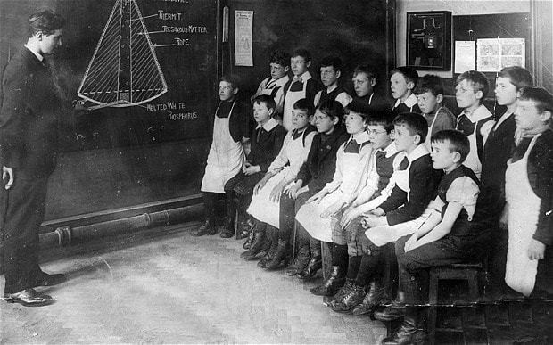 The Great War and education