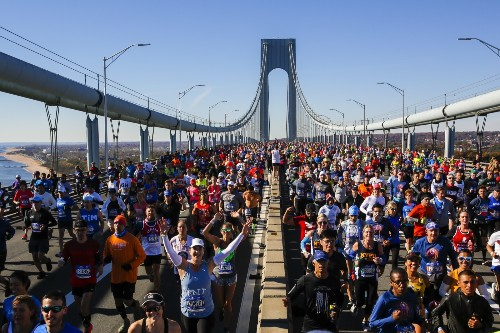 A Beautiful Day for the NYC Marathon: Pictures