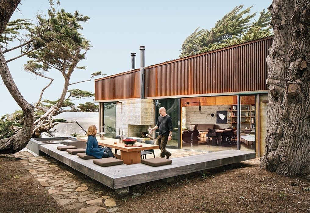 Articles about modern home joins storied site pacific ocean on Dwell.com - Dwell