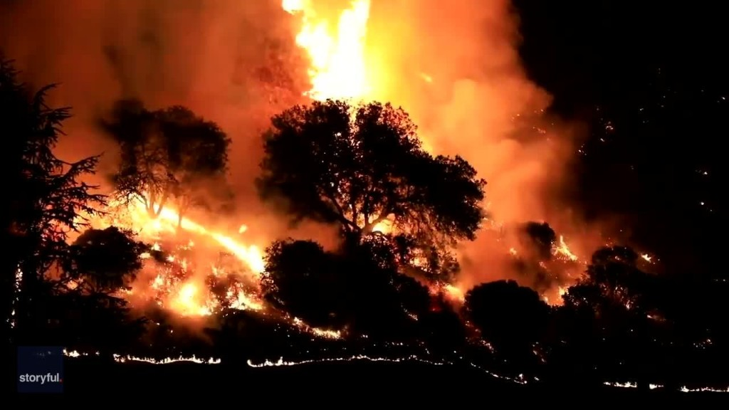 Calistoga Home Lost Despite Firefighters' Battle to Contain Growing Glass Fire