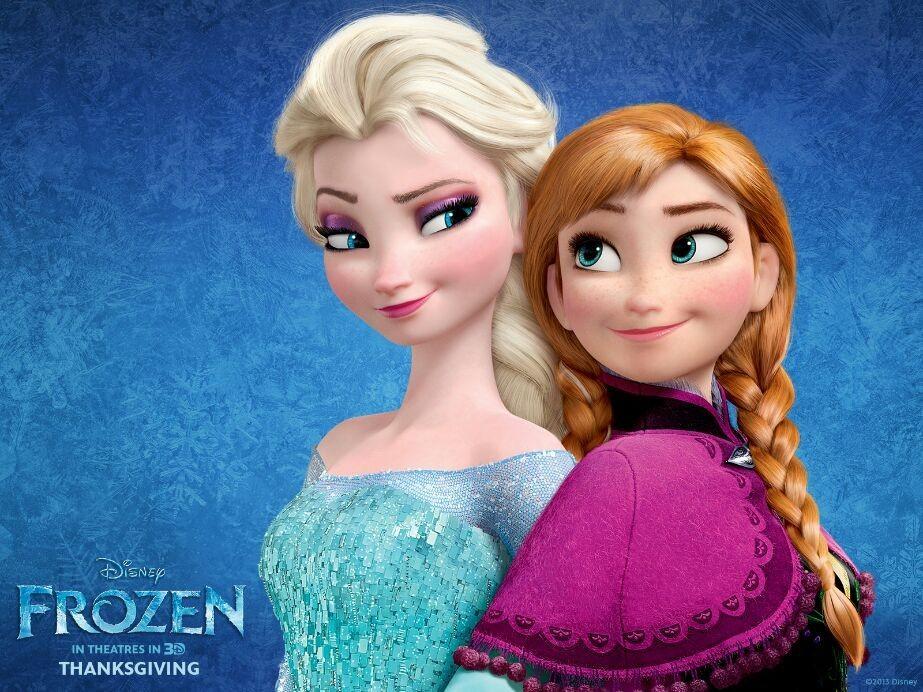 Still I prefer the normal Elsa and Anna...