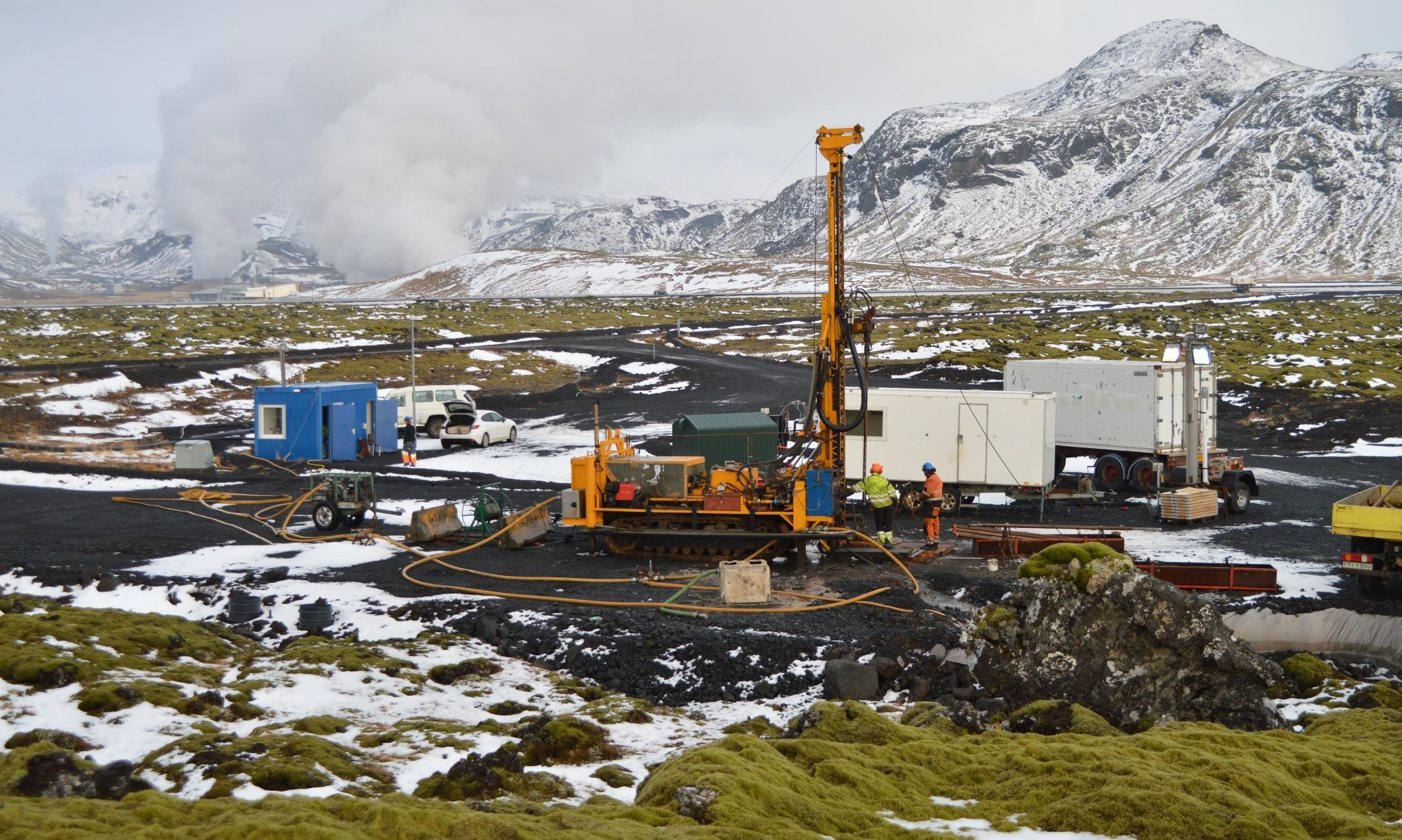 CO2 turned into stone in Iceland in climate change breakthrough