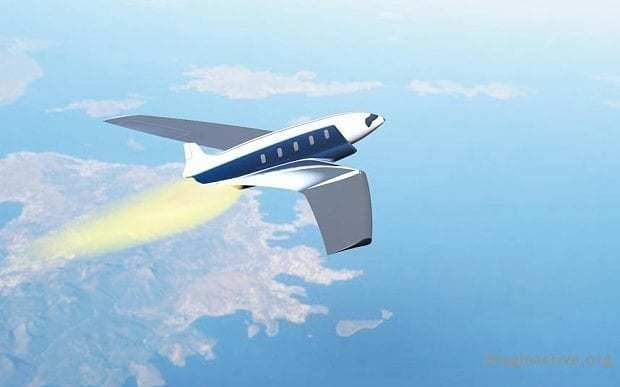 This private jet would get you from London to New York in 11 minutes