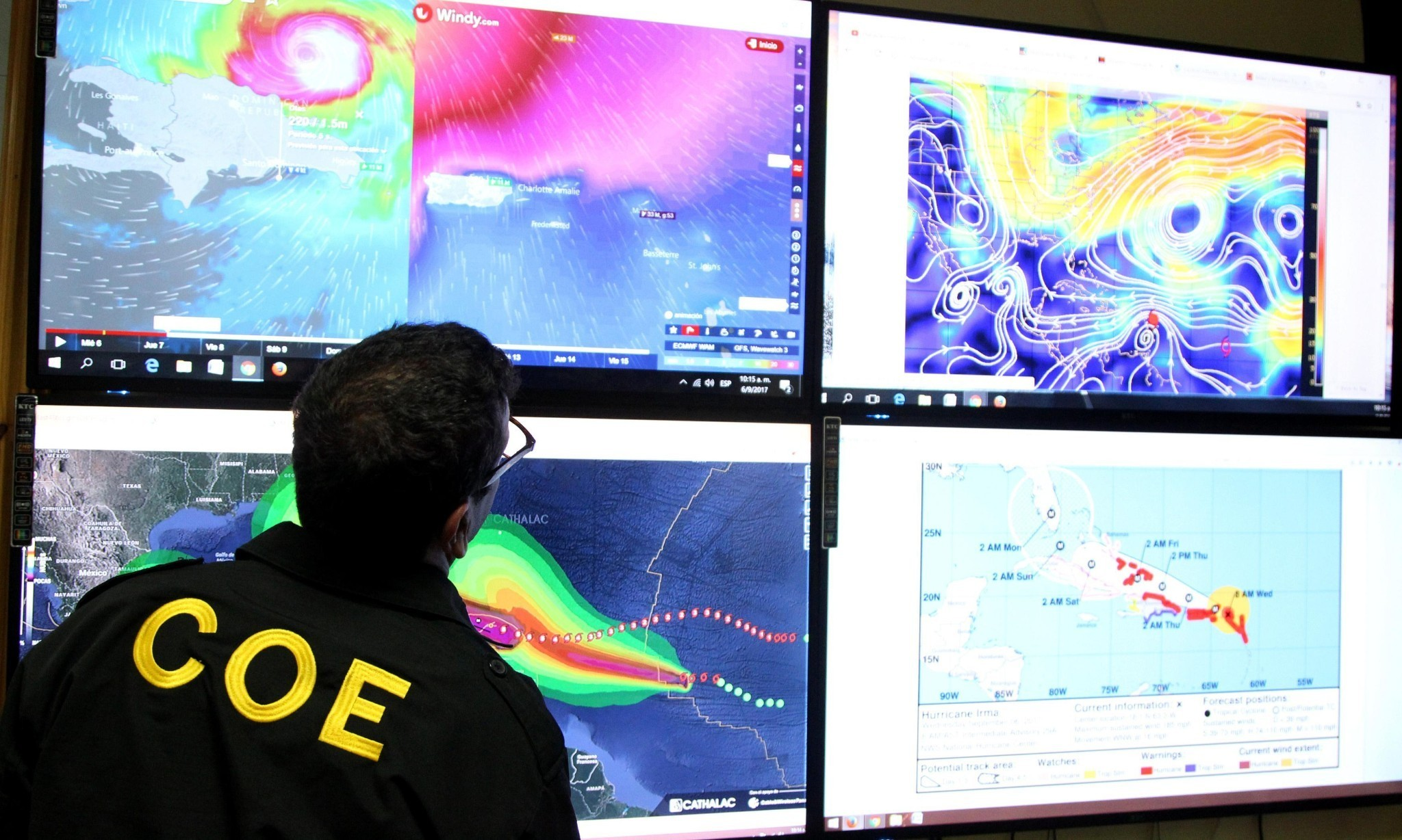 Twin megastorms have scientists fearing this may be the new normal