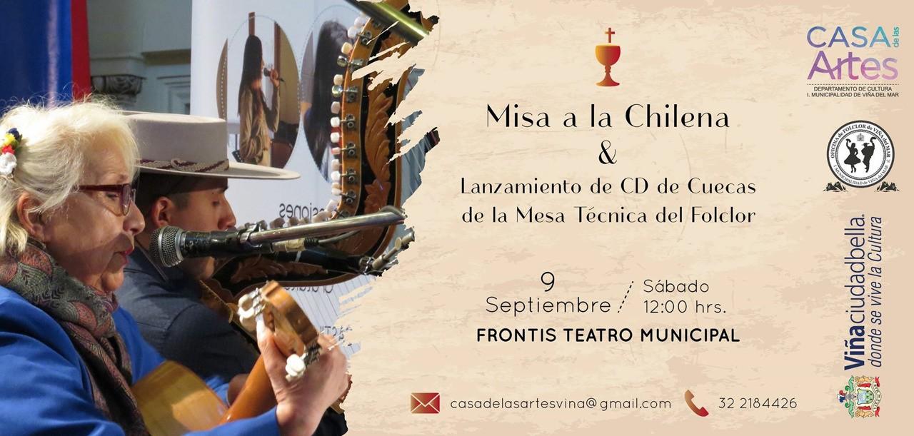 Alcaldesa Virginia Reginato invita a Misa a la Chilena