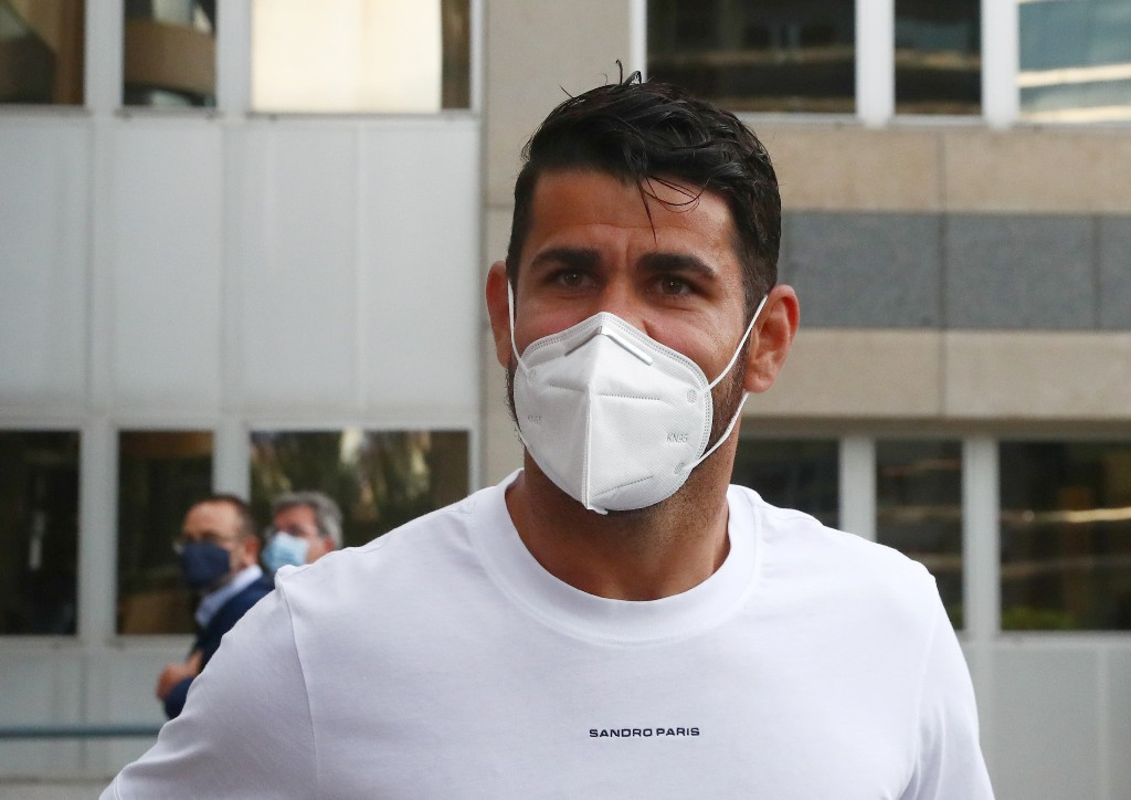 Diego Costa appears in court to settle tax fraud case