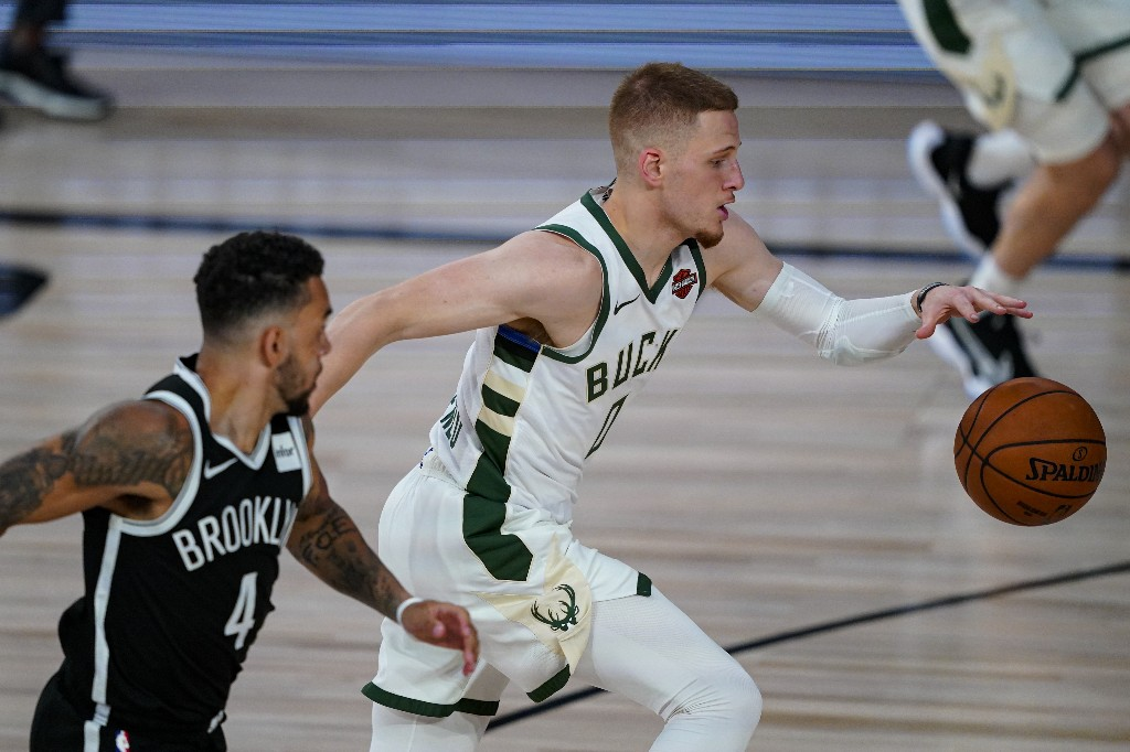 Nets hold off Bucks as Antetokounmpo rests after half