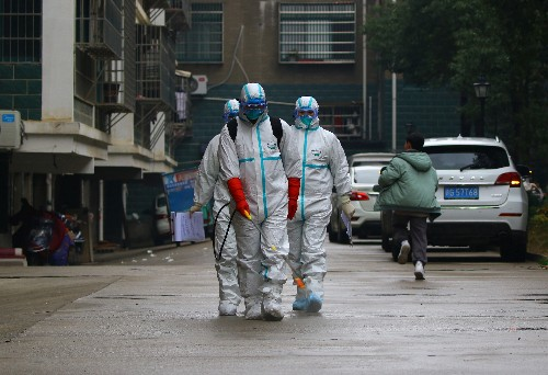 China says virus's ability to spread getting stronger
