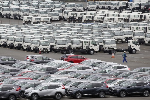 Japan records trade deficit in January amid growth fears