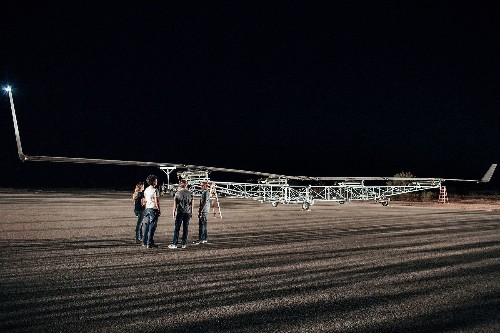 Inside the test flight of Facebook's first internet drone