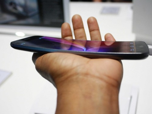 Here Comes Another Oddly Shaped, Curved Smartphone