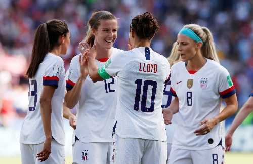 WWC roundup: U.S. beats Chile; Sweden thumps Thailand to advance