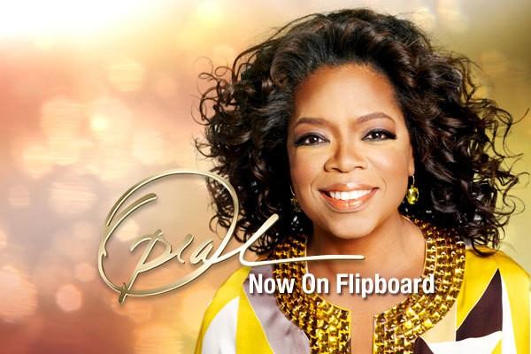 Get Oprah on Your Flipboard