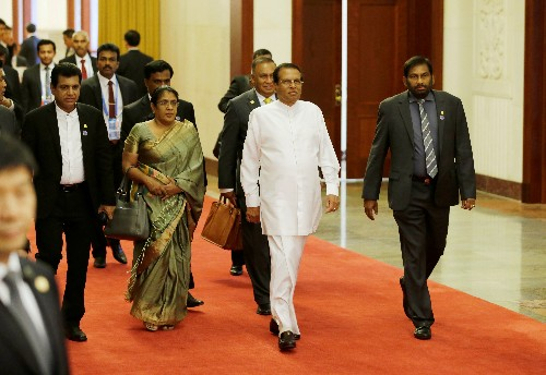 China trip and son's wedding: Sri Lanka leader denounced after Easter bombings