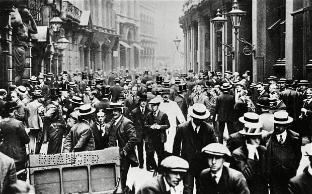 Life on the eve of war: the first truly global financial crisis,