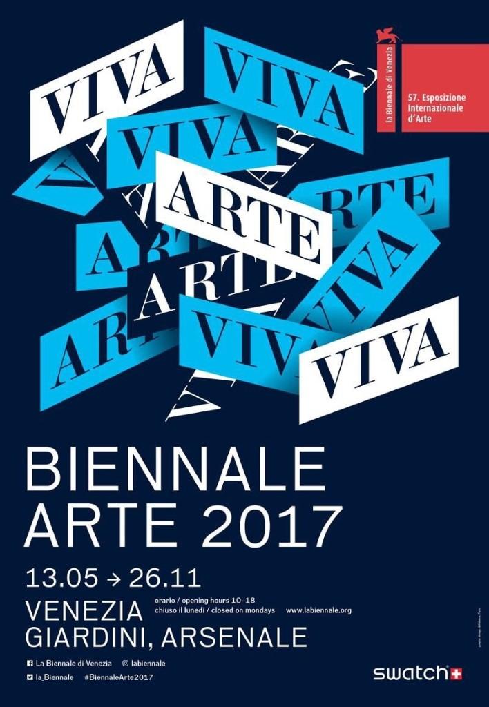57a Biennale Arti Visive di Venezia 2017 - cover