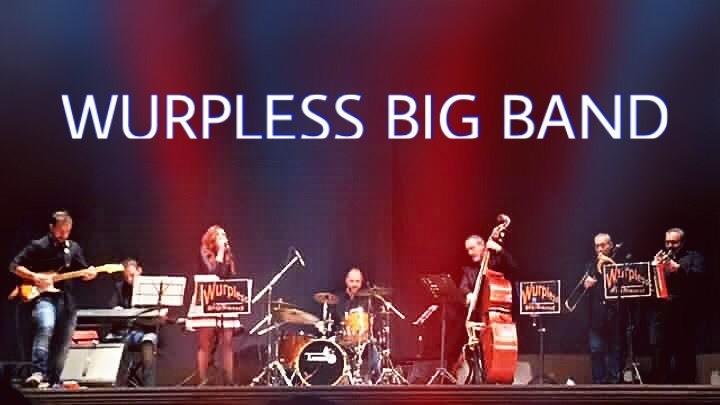 La Wurpless Big Band composta da straordinari musicisti che eseguono un vasto repertorio musicale.