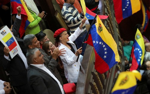 Venezuela pro-Maduro legislature to assess early congress elections