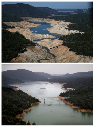 California Drought, Then and Now, in Pictures
