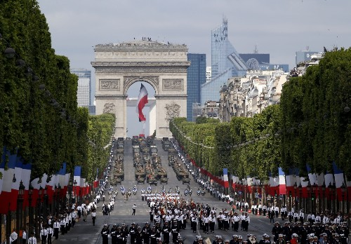 Bastille Day in France: Pictures