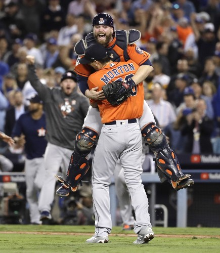 Astros Win First World Series in Franchise History: Pictures