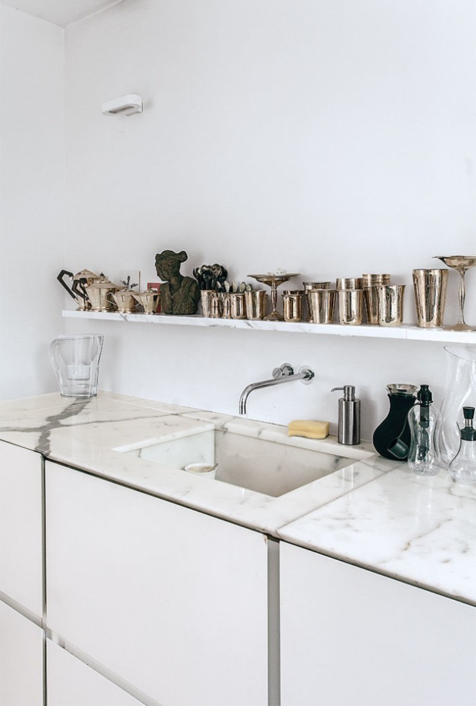 Articles about vein how use marble kitchen on Dwell.com