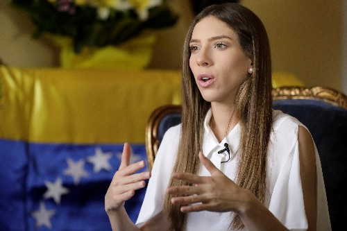 Wife of Venezuelan opposition leader to Maduro: 'Enough already!'