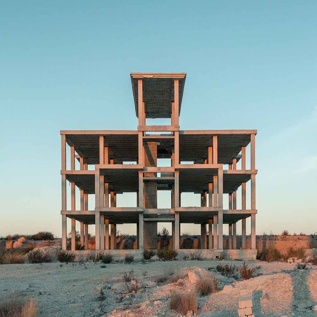 See eerie photos of unfinished concrete buildings in Spain