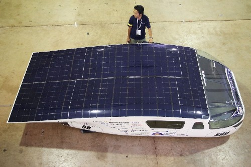 Preparing for World Solar Challenge: Pictures