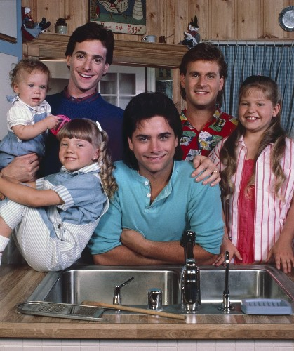 Full House Then and Now: Pictures