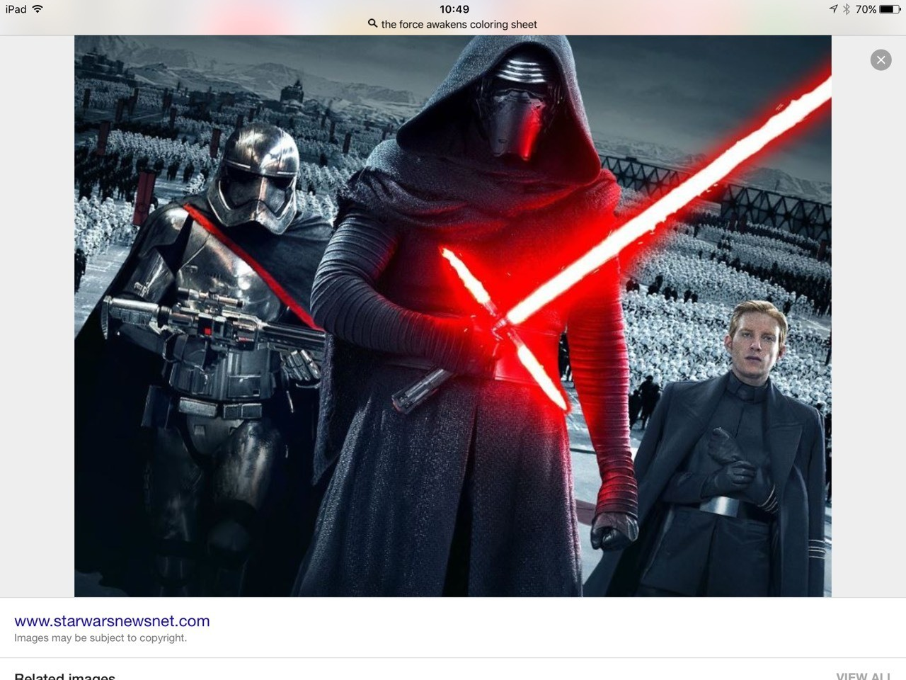 Star Wars thee force awakens is finally here and we are all excited!