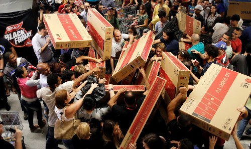 Black Friday Madness in Pictures