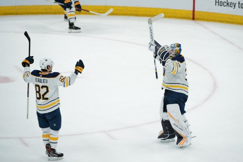 Dahlin nets 1st goal as Sabres blank Coyotes