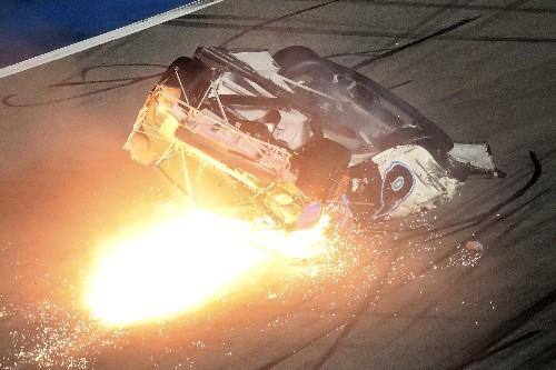 Ryan Newman's latest terrifying crash sends him to hospital