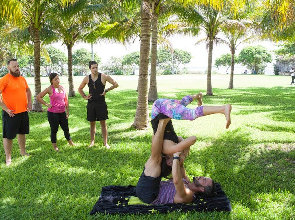 Day 1: Acro Yoga by the Bay