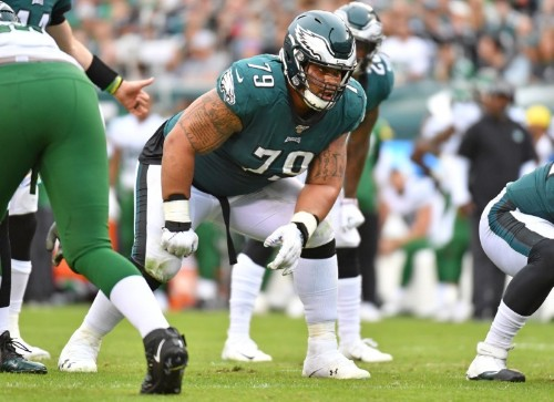 Eagles make Brooks NFL's top-paid guard