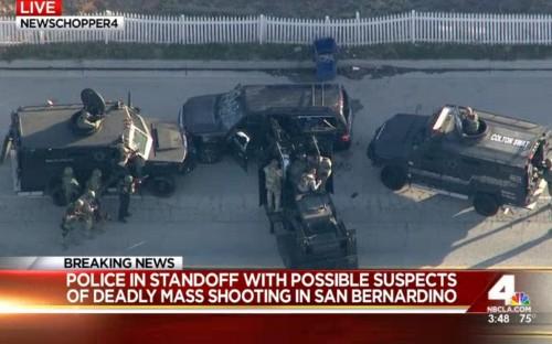 Shooting In San Bernardino, California